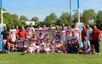 (l'équipe 2 après la victoire face à Sarlat)