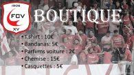 Retrouvez dès à présent les produits du FCV à la patisserie de Joel Fontes… Portez fièrement les couleurs du FCV!!!!!!