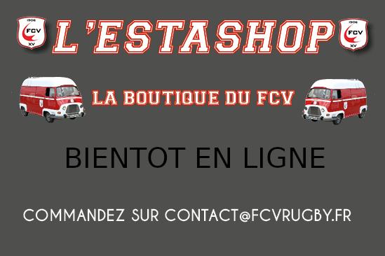 Le FCV ouvre sa boutique sur Internet