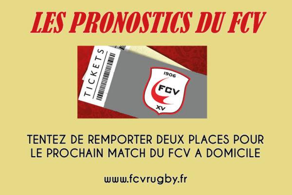 Concours de Pronostics FCV/Mazamet