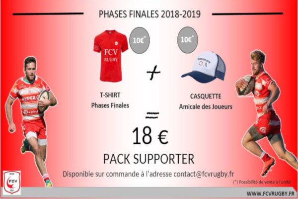 Pack Supporter Phases Finales